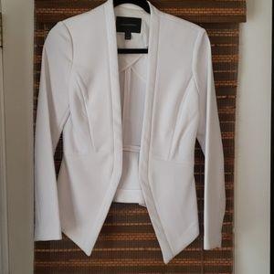 White fitted Banana Republic jacket size 4